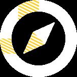 指针,代表设计定制化的产品方案